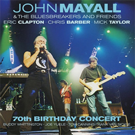 John Mayall & The Bluesbreakers & Friends 70th Birthday Concert Live in Liverpool 4LP - Coloured Vinyl-