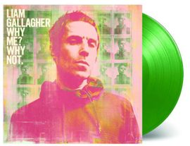 Liam Gallagher Why Me? Why Not LP - Coke Green Vinyl-