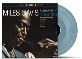 Miles Davis - Kind Of Blue LP -Blue Coloured Version -.