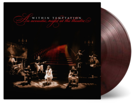 Within Temptation An Acoustic Night At The Theatre LP - Red Vinyl-