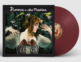 Florence + The Machine Lungs LP -Burgundy Vinyl-