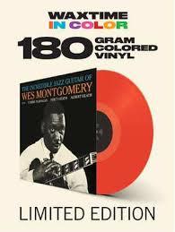 Wes Montgomery Incredible Jazz Guitar LP - Red Vinyl-