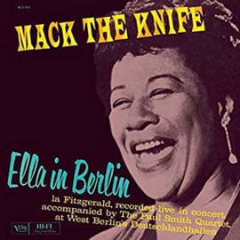 Ella Fitzgerald Ella In Berlin LP -Blue Vinyl-
