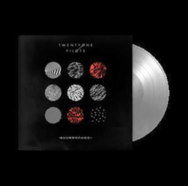 Twenty One Pilots Blurryface 2LP  - Silver Vinyl-