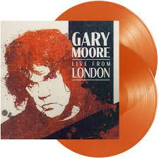 Gary Moore Live From London 180g 2LP - Orange Vinyl-