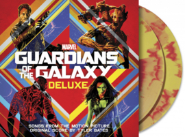 Guardians Of The Galaxy Soundtrack 2LP - Red/Yellow Vinyl