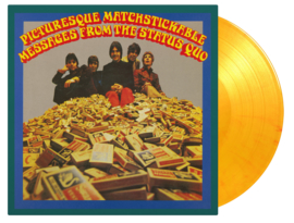Status Quo Picturesque Matchstickable Messages from the Status Quo 2LP - Yellow Vinyl-
