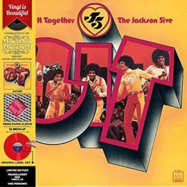 Jackson 5 Get It Together LP - Red Vinyl-