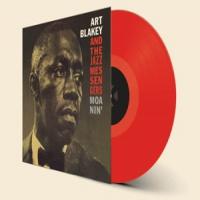 Art Blakey & Jazz Messen Moanin LP - Red Vinyl-