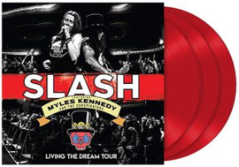 Slash / Kennedy, Myles And The Conspirators Living The Dream Tour 3LP - Red Vinyl-