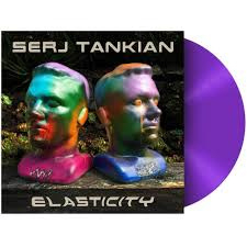 Serj Tankian Elasticity LP - Purple Vinyl-