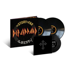 "Def Leppard The Story So Far: The Best of 180g 2LP & 7"" Vinyl Single"