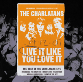 Charlatans Live It Like You 2LP
