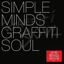Simple Minds Graffiti Soul LP  -Coloured Vinyl-