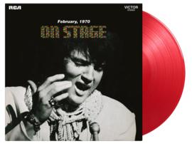 Elvis Presley On Stage 2LP - Red Vinyl-