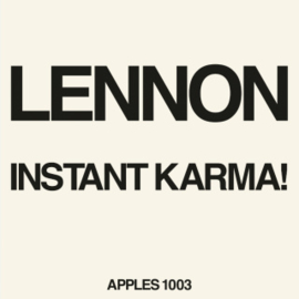 John Lennon & Ono With T Instant Karma! 7''