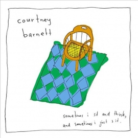Courtney Barnett Sometimes I Sit And Think And Sometines I Just Sit 2LP - Yellow Version-