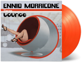 Ennio Morricone Lounge 2LP - Orange Vinyl-