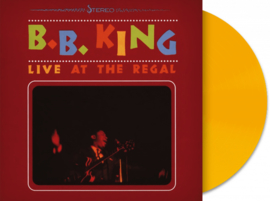 B. B. King Live At The Regal - Yellow Vinyl-