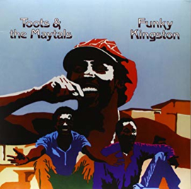 Toots & The Maytals Funky Kingston Lp - Blue Vinyl-