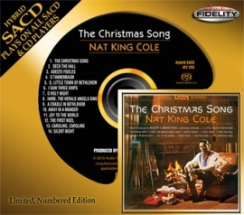 Nat King Cole The Christmas Song Numbered Limited Edition Hybrid Stereo SACD