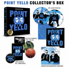 Yello Point 2LP + CD + DVD + Blu-Ray -Collecter Box-