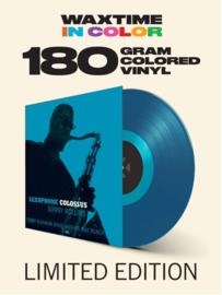Sonny Rollins Saxophone Colossus LP - Blue Vinyl-