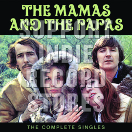 THE MAMAS AND THE PAPAS The Complete Singles 2LP