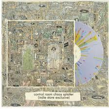 Weezer Ok Human LP - Yellow Blue Red Splatter -