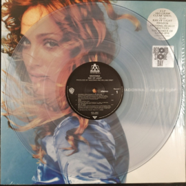 Madonna Ray of Light 2LP - Clear Vinyl-