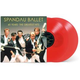 Spandau Ballet 40 Years The Greatest Hist 2LP - Red Vinyl-