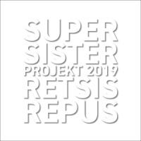 Supersister Projekt 2019 Retsis Repus LP - White Vinyl-