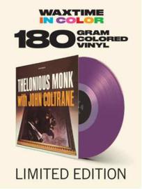 Thelonious MonkThelonious Monk With Coltrane LP - Purple Vinyl-