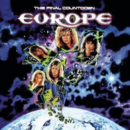 Europe Final Countdown LP -Blue Splattered Vinyl-