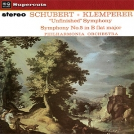 "Schubert - Symphony No. 5 & No. 8 ""Unfinished"" LP"