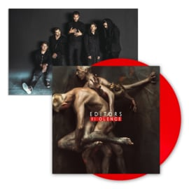 Editors Violence LP - Red Vinyl -ltd-