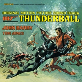 James Bond: Thunderball Soundtrack 180g LP