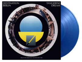 Tangerine Dream Destination Berlin LP - Blue Vinyl-