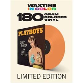Chet Baker & Art Pepper Playboy LP - Orange Vinyl-