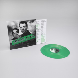 The Good, the Bad & the Queen Merrie Land LP -Green Vinyl- No Risc Risc-