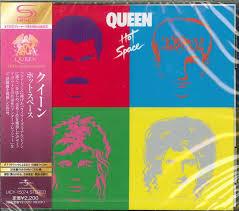 Queen Hot Space SHM-CD