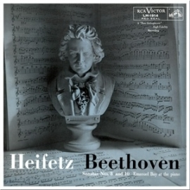 Beethoven Sonatos No. 8 & 10 HQ LP -Mono-.