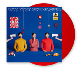 Two Door Cinema Club False Alarm LP - Red Vinyl-