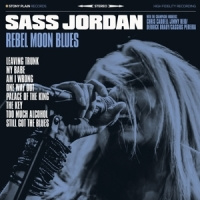 Sass Jordan Rebel Moon Blues LP