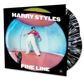 Harry Styles Fine Line 2LP - Black White Splatter Vinyl-