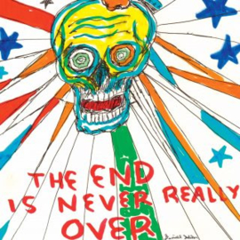 Daniel Johnston THE END IS NEVER REALLY OVER 2LP