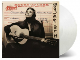 Johnny Cash Bootleg 1:Personal File 3LP -White Vinyl-