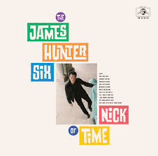 James Hunter Nick Of Time LP - Orange Vinyl