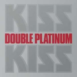 Kiss Double Platirnum 2LP - Silver Vinyl-