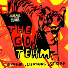 Go! Team Thunder Lightning LP - Silver Vinyl-